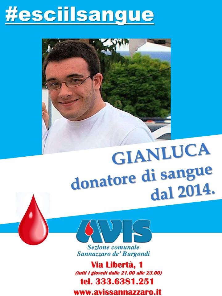 esciilsangue Gianluca M