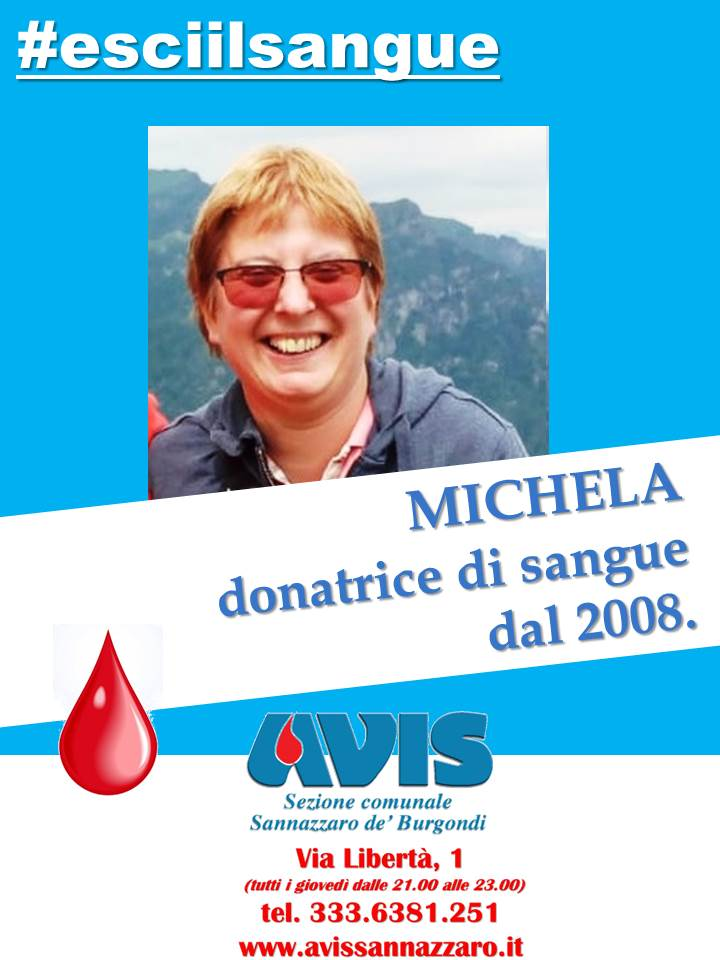 esciilsangue Michela